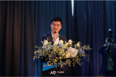 Speech on the TMGM and Australian Open Official Partnership Event